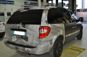 Chrysler Wrapping auto