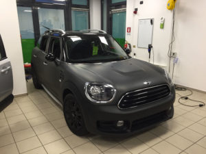 Mini Cooper Wrapping Black