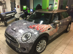 Mini Cooper Wrapping