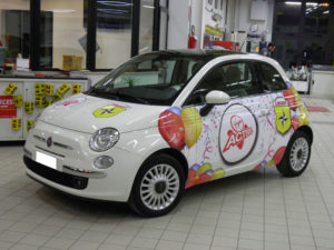 Car Wrap Wrapping 500 abarth