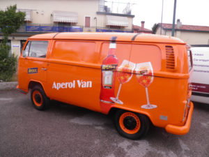 Car Wrap Wrapping Aperol